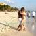 Rum, salsa i karaibski zachód słońca, Playa Ancon, Kuba