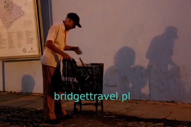 A wieczorową porą.. Trinidad Kuba