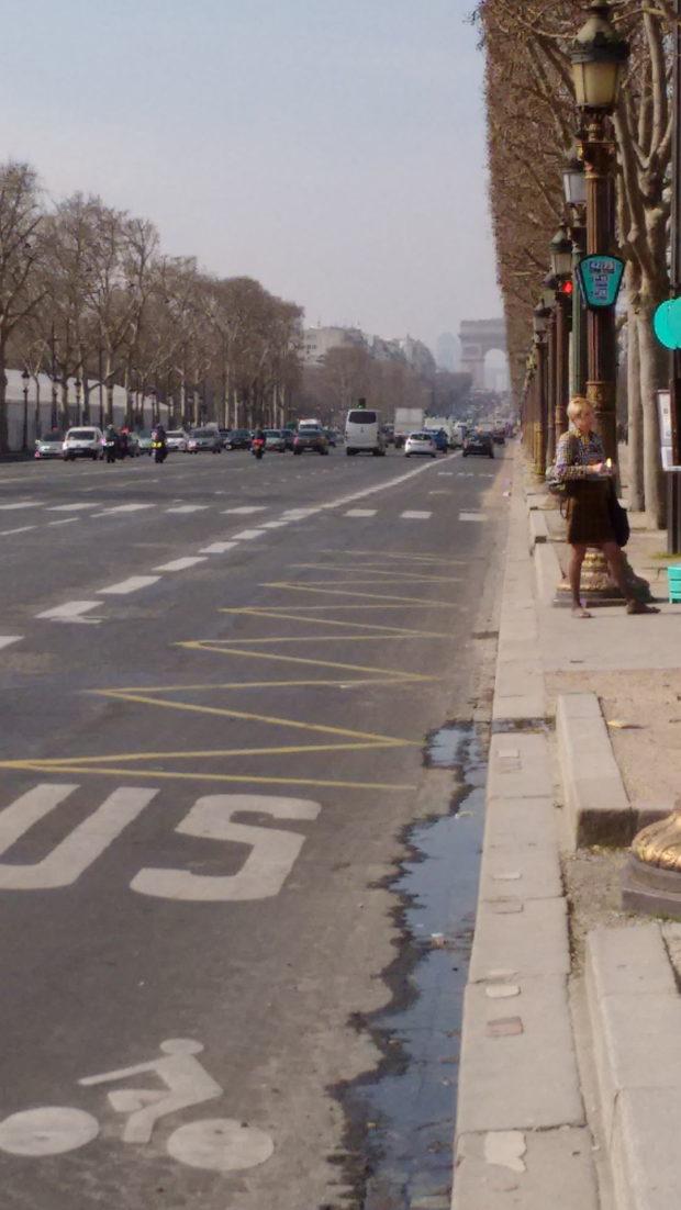 Champs-Élysées, Paryż, Francja