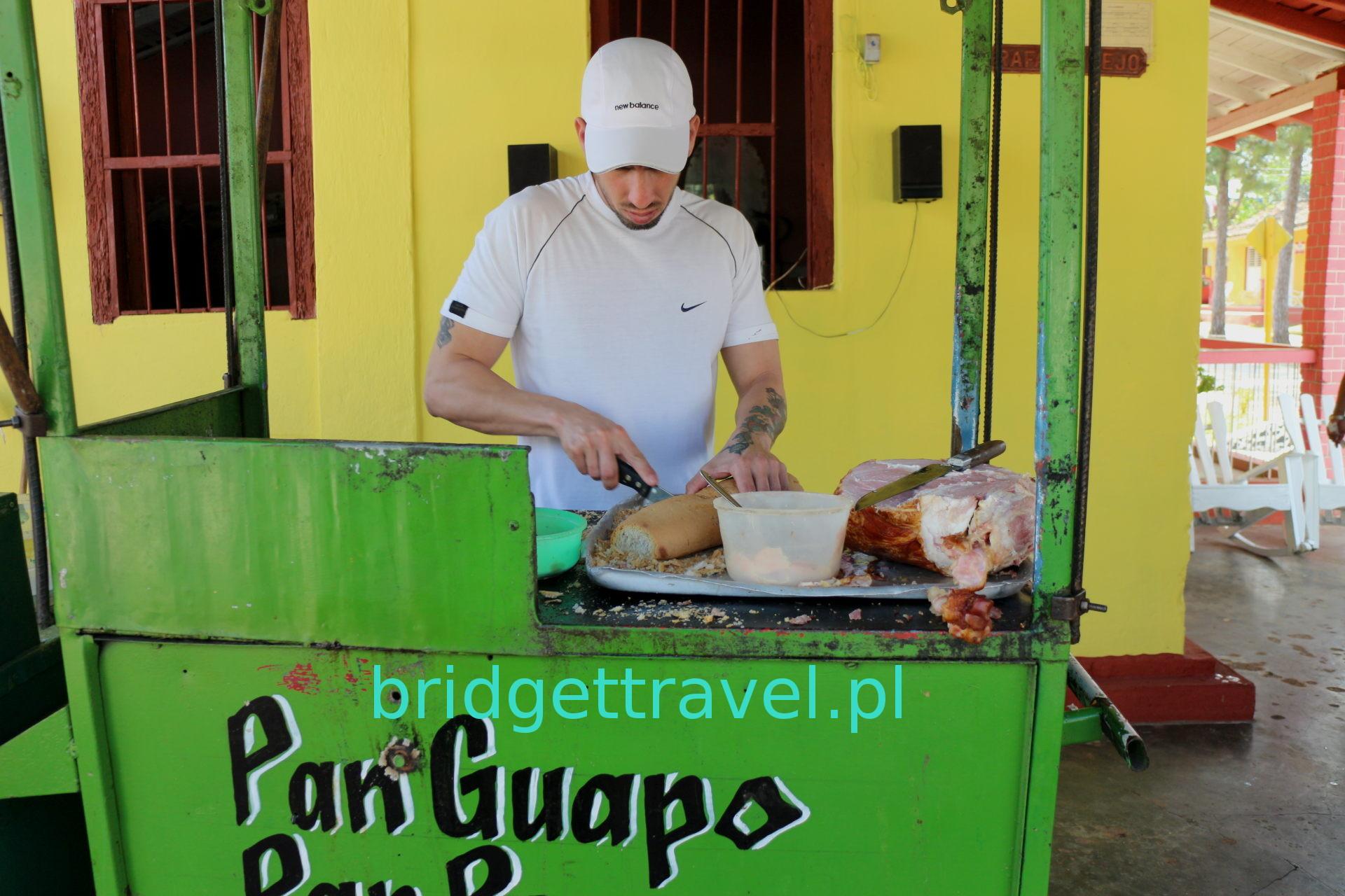 Najsmaczniejsza kanapka z szynką, Vinales, Kuba