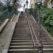 Schody na wzgórze z Katedrą Najświętszego Serca Pana Jezusa, Paryż, Francja
