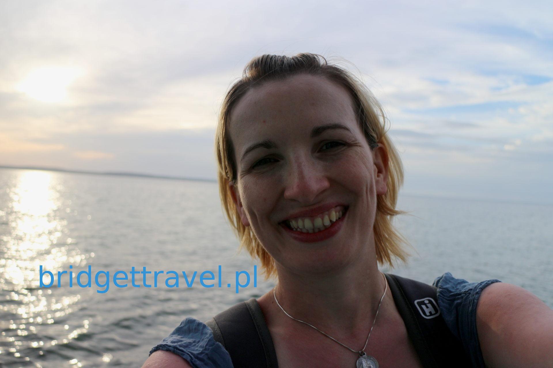 Spalona słońcem, grymas uśmiechu, Cienfuegos, Kuba