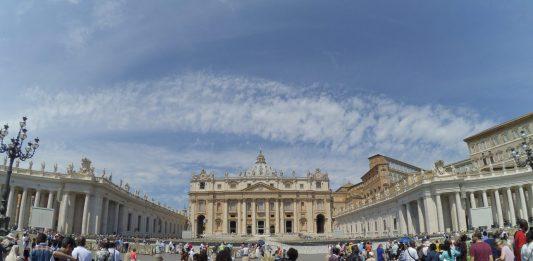 Plac i Katedra Św.Piotra, Watykan, Rzym, Włochy